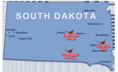 Pheasant hunting locations in south dakota for South dakota fishing license